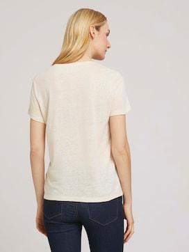 T-Shirt mit Brusttasche - 2 - TOM TAILOR