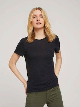 T-Shirt mit Brusttasche - 5 - TOM TAILOR