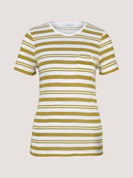 T-Shirt mit Brusttasche - 7 - TOM TAILOR