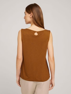 Top with a drawstring with modal - 2 - TOM TAILOR