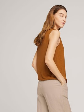 Top with a drawstring with modal - 5 - TOM TAILOR