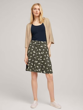 Jersey skirt with pockets - 3 - TOM TAILOR