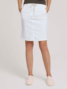 Skirt with a drawstring on the waist - 1 - TOM TAILOR