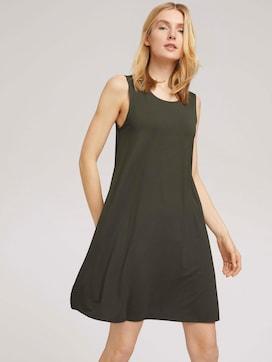 Jerseykleid mit Rückendetail - 5 - TOM TAILOR