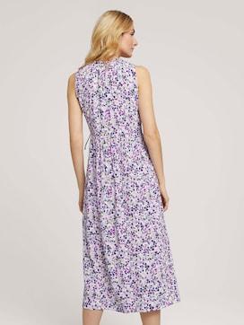 Mouwloze midi jurk met print - 2 - TOM TAILOR