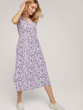 Mouwloze midi jurk met print - 5 - TOM TAILOR