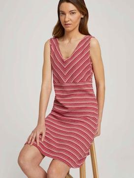 Mouwloze midi-jurk met streep - 5 - TOM TAILOR