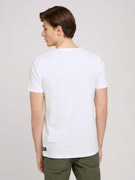 T-Shirt mit kleinem Print - 2 - TOM TAILOR Denim