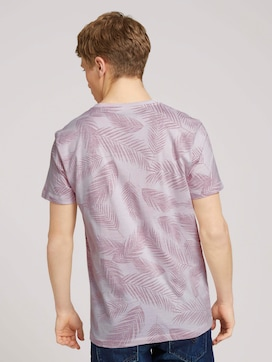 T-shirt with a palm tree print - 2 - TOM TAILOR Denim