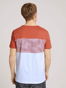 T-shirt in een mix van patronen - 2 - TOM TAILOR Denim