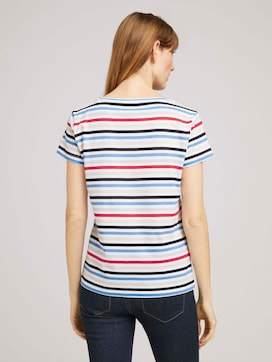 Printed t-shirt with organic cotton - 2 - TOM TAILOR