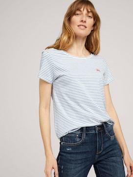 Print T-Shirt mit Bio-Baumwolle - 5 - TOM TAILOR