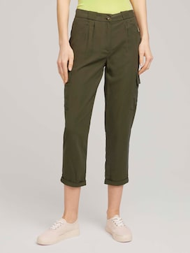 Loose Fit Cargohose - 1 - TOM TAILOR