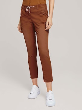 Tapered Relaxed Hose mit Kordelzug - 1 - TOM TAILOR