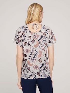 T-shirt met dessin en wijde mouwen - 2 - TOM TAILOR