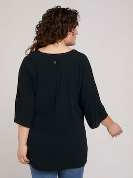 Short-sleeved tunic blouse - 2 - My True Me