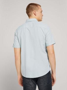 Textured short-sleeved shirt - 2 - TOM TAILOR