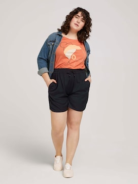 Relaxed Loose Fit Shorts - 3 - My True Me