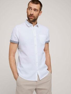 overhemd getextureerd - 5 - TOM TAILOR