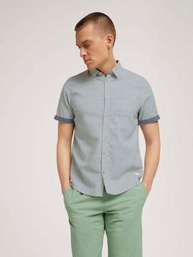 gestreept overhemd met korte mouwen - 5 - TOM TAILOR