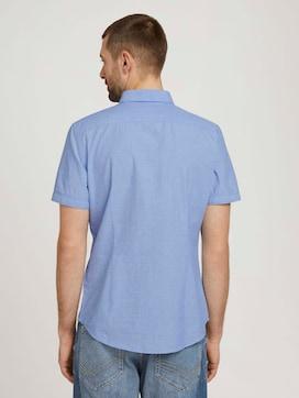 overhemd met korte mouwen getextureerd - 2 - TOM TAILOR