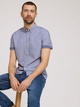 overhemd met korte mouwen getextureerd - 5 - TOM TAILOR