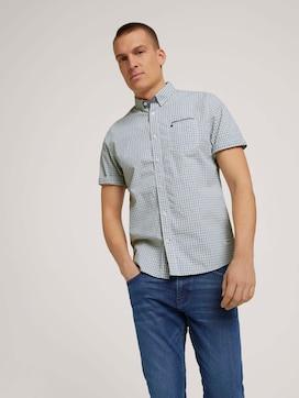 Geruit shirt met korte mouwen - 5 - TOM TAILOR