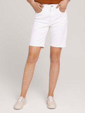 High Waist Bermuda Shorts - 1 - TOM TAILOR