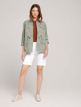 High Waist Bermuda Shorts - 3 - TOM TAILOR
