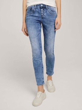 Cropped Tapered Relaxed Jeans - 1 - TOM TAILOR