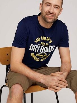 T-Shirt mit Print - 5 - TOM TAILOR