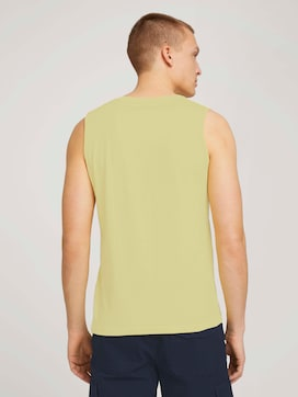 Tank top with a logo print - 2 - TOM TAILOR