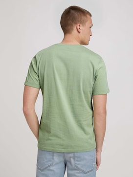 T-shirt with a print with organic cotton - 2 - TOM TAILOR