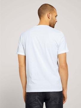 T-shirt met print en biologische katoen - 2 - TOM TAILOR