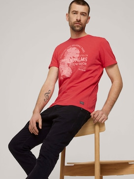 T-shirt with a print made of organic cotton - 5 - TOM TAILOR