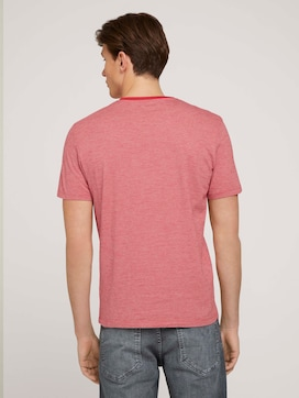 finestriped t-shirt with print - 2 - TOM TAILOR