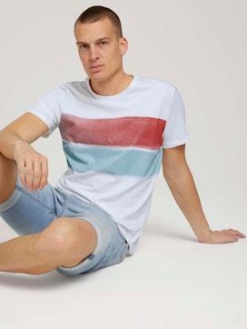 Streifen T-Shirt mit Bio-Baumwolle - 5 - TOM TAILOR