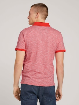 Finely striped polo shirt - 2 - TOM TAILOR