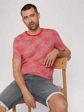 T-Shirt mit Muster - 5 - TOM TAILOR