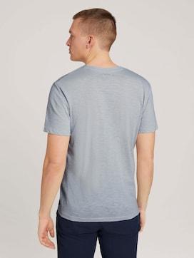 T-Shirt in Melange-Optik - 2 - TOM TAILOR