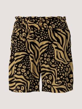 Gemusterte Relaxed Shorts - 7 - TOM TAILOR Denim