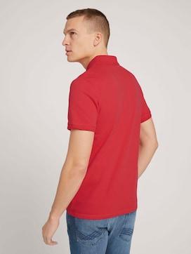 Textured polo shirt - 2 - TOM TAILOR