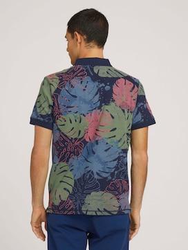 Poloshirt met bloemmotief en biologische katoen - 2 - TOM TAILOR