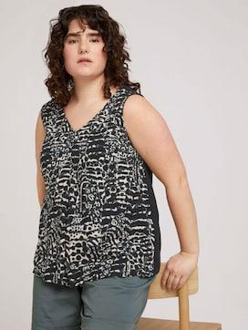 gemustertes Shirt mit LENZING(TM) ECOVERO(TM) - 5 - My True Me