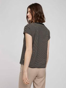 T-Shirt mit Stehkragen - 2 - TOM TAILOR Denim