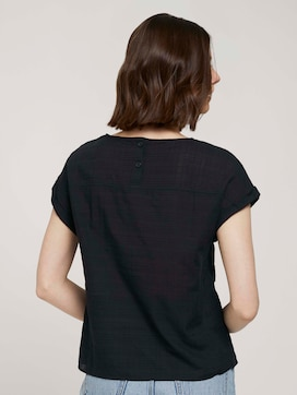 T-shirt with cuffs - 2 - TOM TAILOR Denim