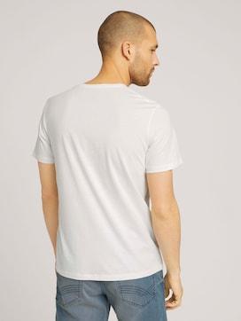 Logo Print T-Shirt mit Bio-Baumwolle - 2 - TOM TAILOR
