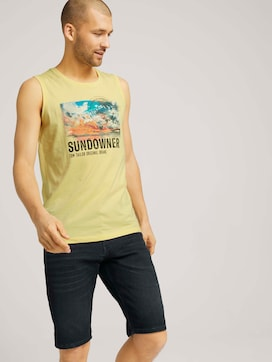 Tank top with a print - 5 - TOM TAILOR