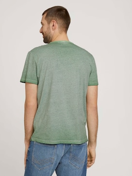 Gestreiftes Henley T-Shirt - 2 - TOM TAILOR