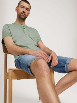 Gestreiftes Henley T-Shirt - 5 - TOM TAILOR